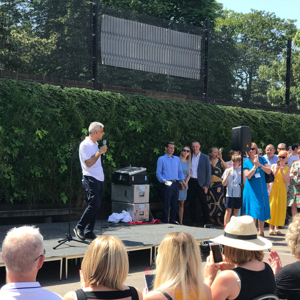 The Mayor of London Sadiq Khan chiswick Oasis