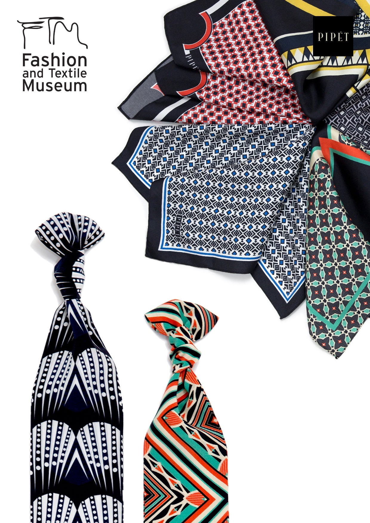 Fashion and Textile Museum Jazz Age scarves
