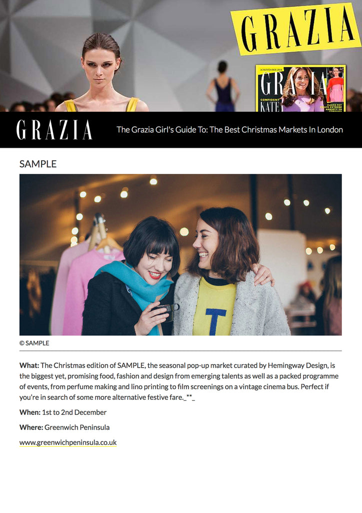 Grazia SAMPLE WINTER MARKET