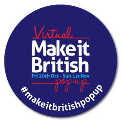 Make it British virtual Pop Up