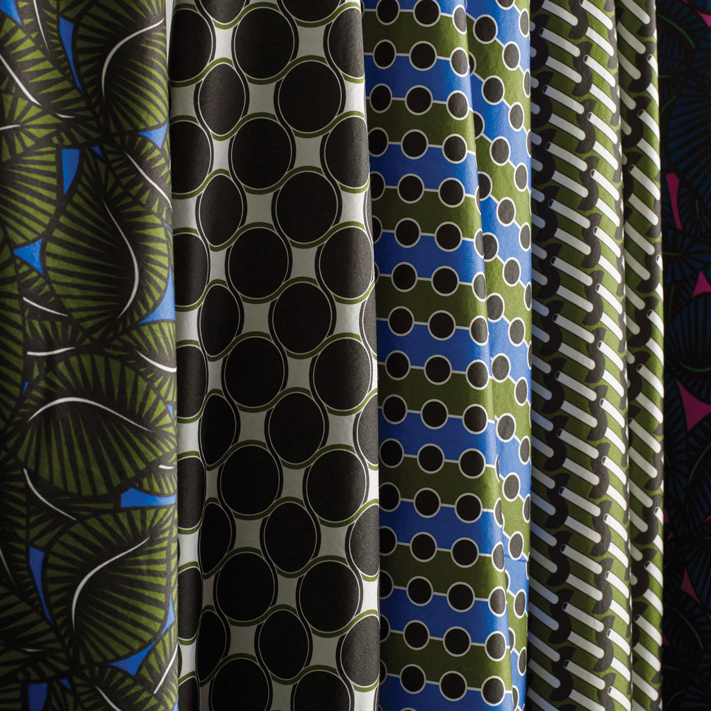 Pipet Barbican Fabrics draping