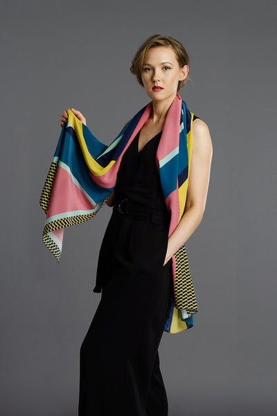 Marvel long scarf by Pipet design