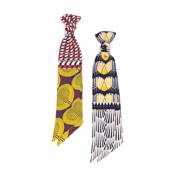 Capelletti and Kardia skinny scarf by PIPET