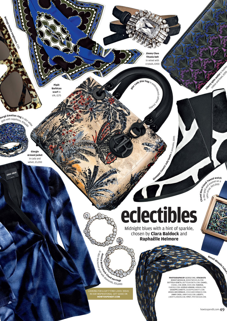 How to Spend it Eclectibles Financial Times pipetdesign