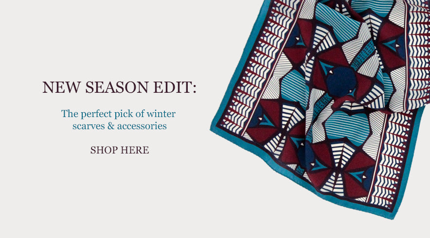 New winter scarves from PIPET