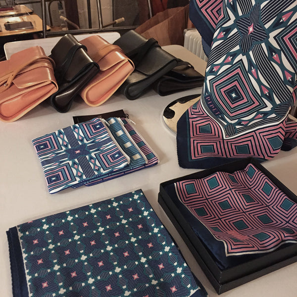 PIPET scarves and M.Hulot leather goods