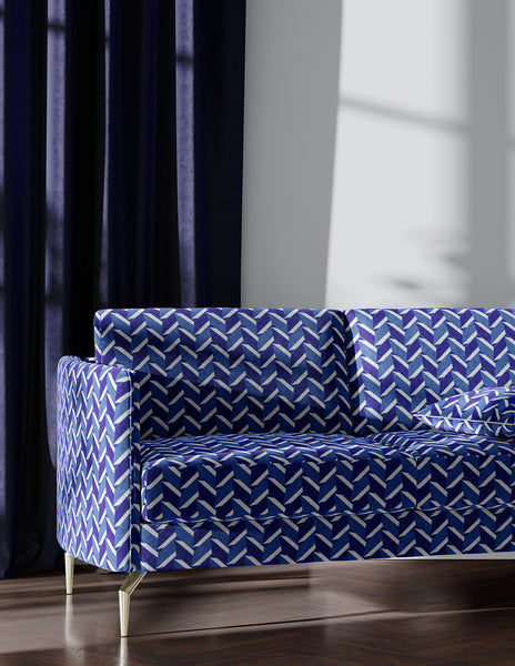 Pipet Design Lyttelton Fabric in Blue