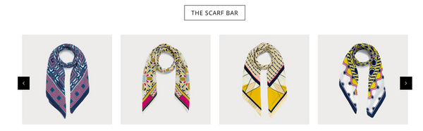 Pipet design The Scarf Bar