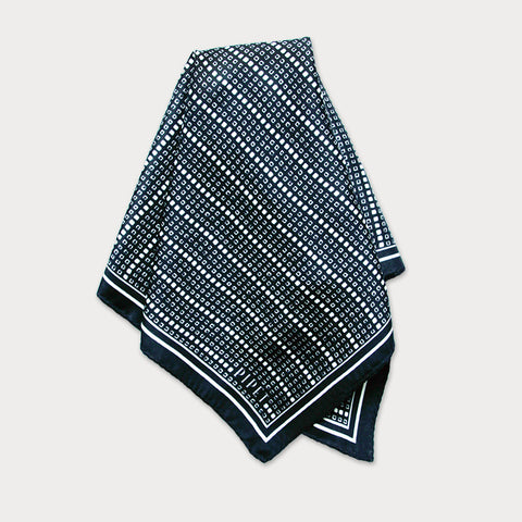 Aida Stripe Men's Pocket Square