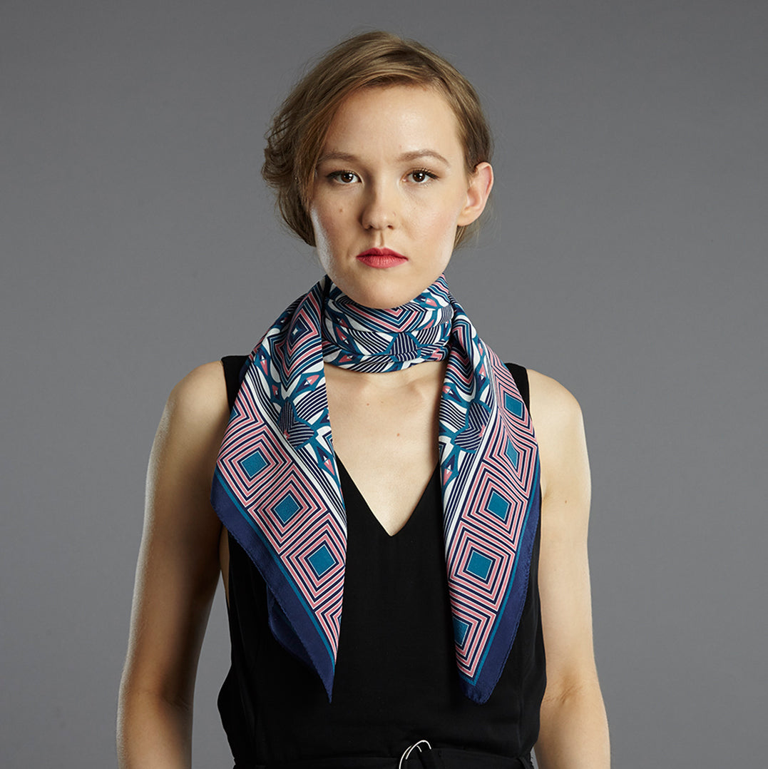 District 90cm Square Scarf