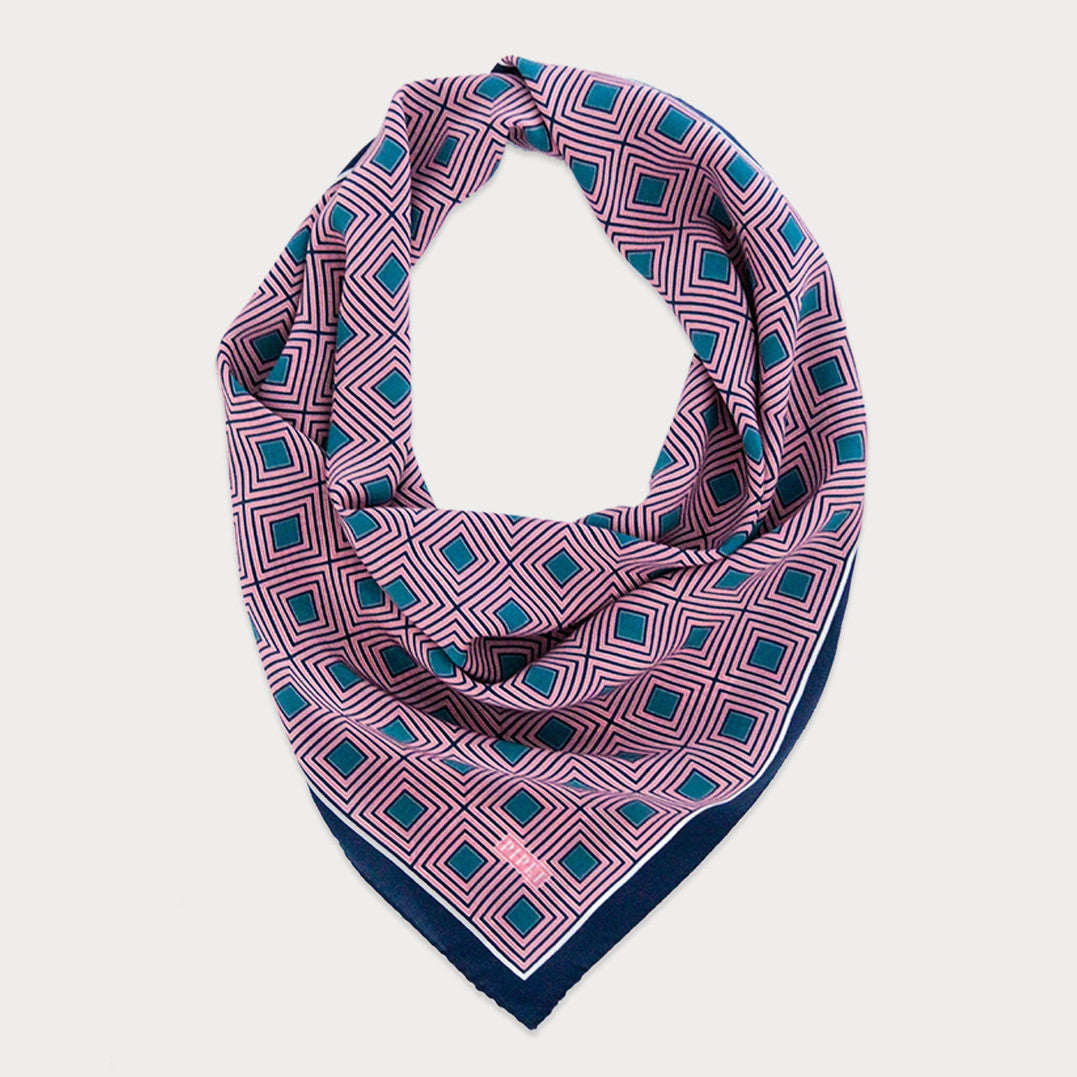 Unity 65cm Sml Square Scarf (Blush pink)