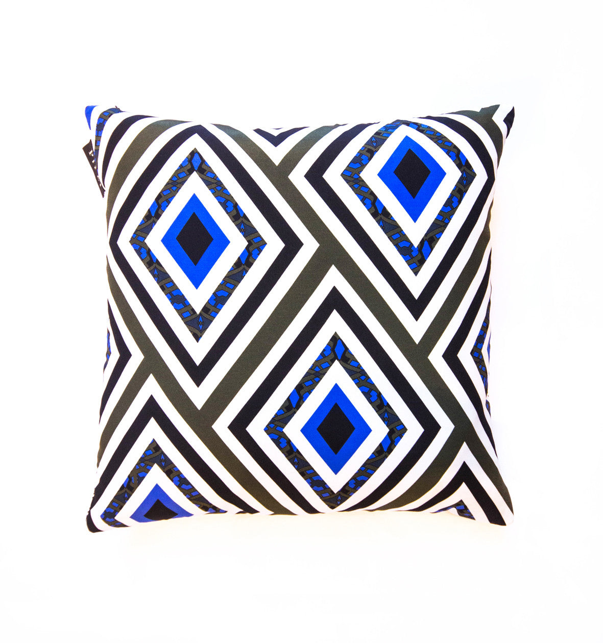 Baltard Silk Square Cushion