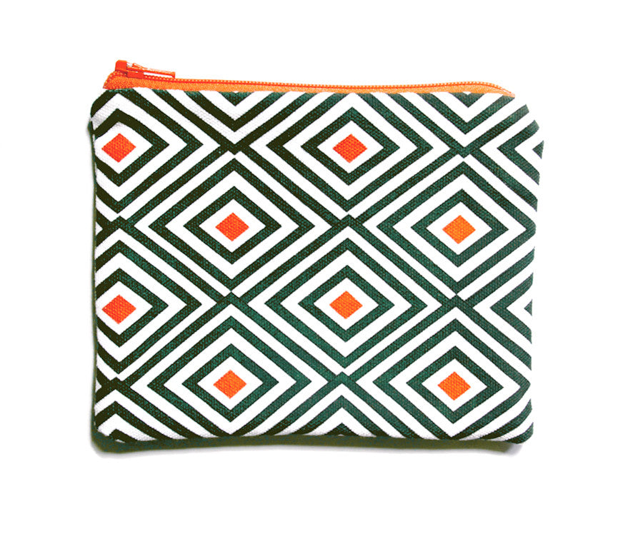Baltard Diamond Zip Pouch