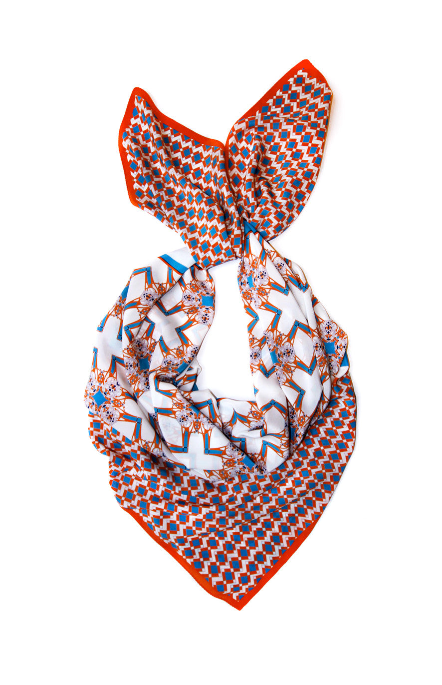 Marboux Oversize Square scarf