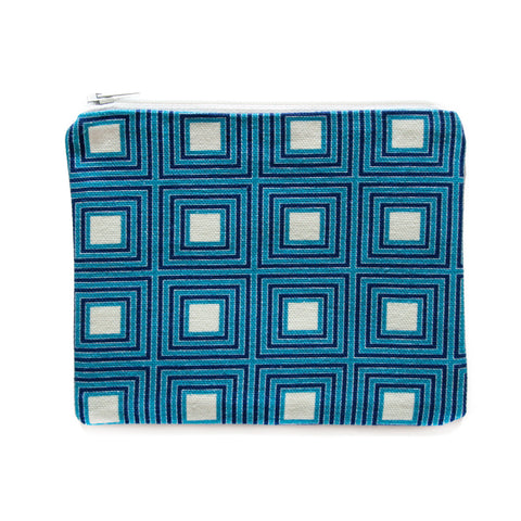 Unity Zip Pouch, Blue was £26