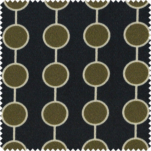 Sumatra Cotton Velvet Black/Spice