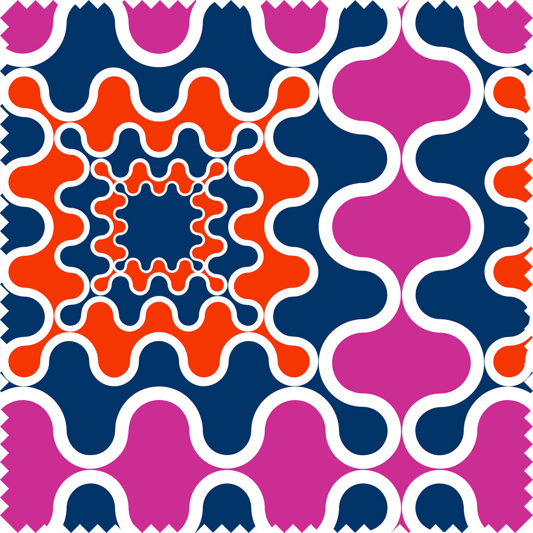 Frobisher Maxi Printed Cotton Sateen by Pipét Design