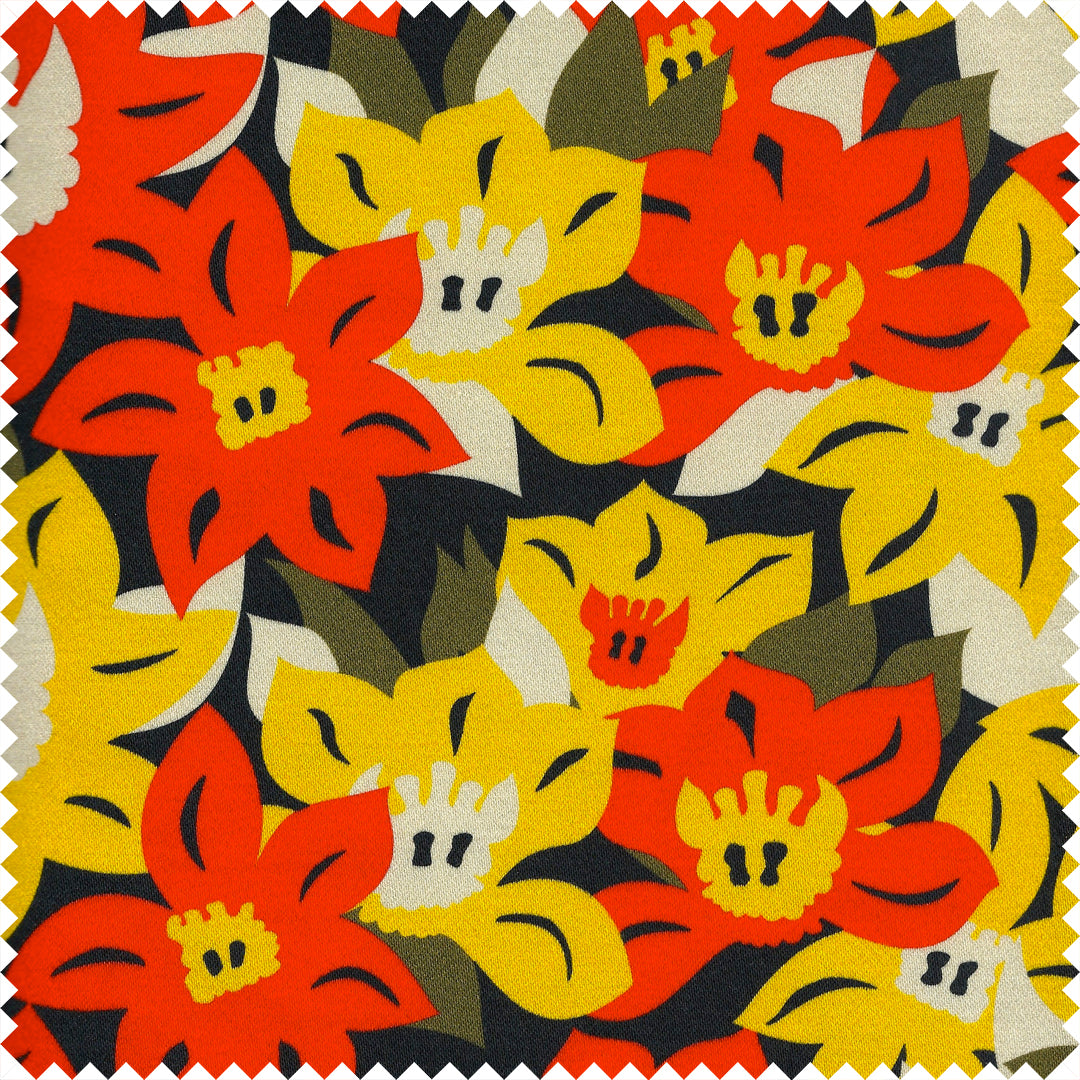 Talise Printed Cotton Sateen by Pipét Design