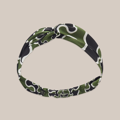 Frobisher Headband - Khaki / Black