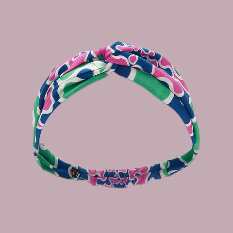 Frobisher Headband - Mauve / Green