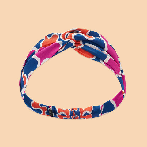 Frobisher Headband - Orange / Magenta