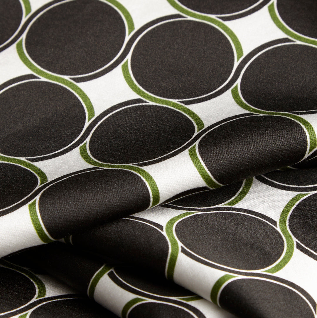 Bon Cotton Sateen Black/Green
