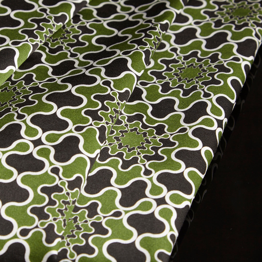 Frobisher Printed Cotton Sateen by Pipét Design