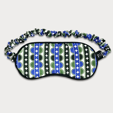 Lauderdale Silk Cotton Sleep Mask