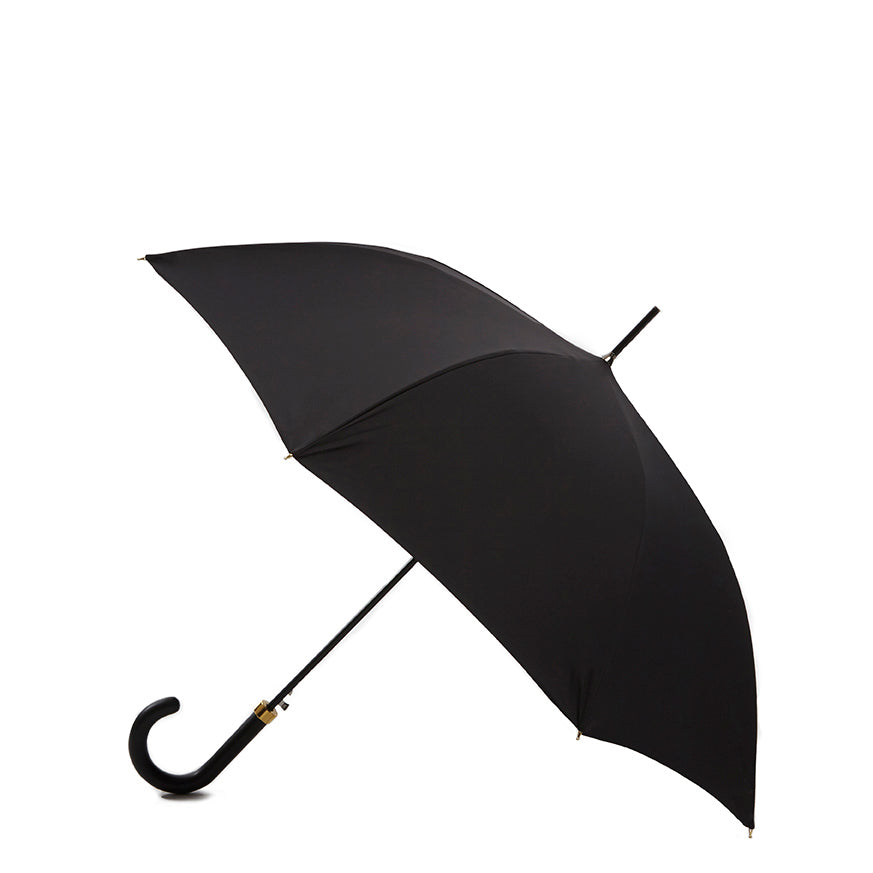 Pipet Black Traditional Full Length British Umbrella, Black