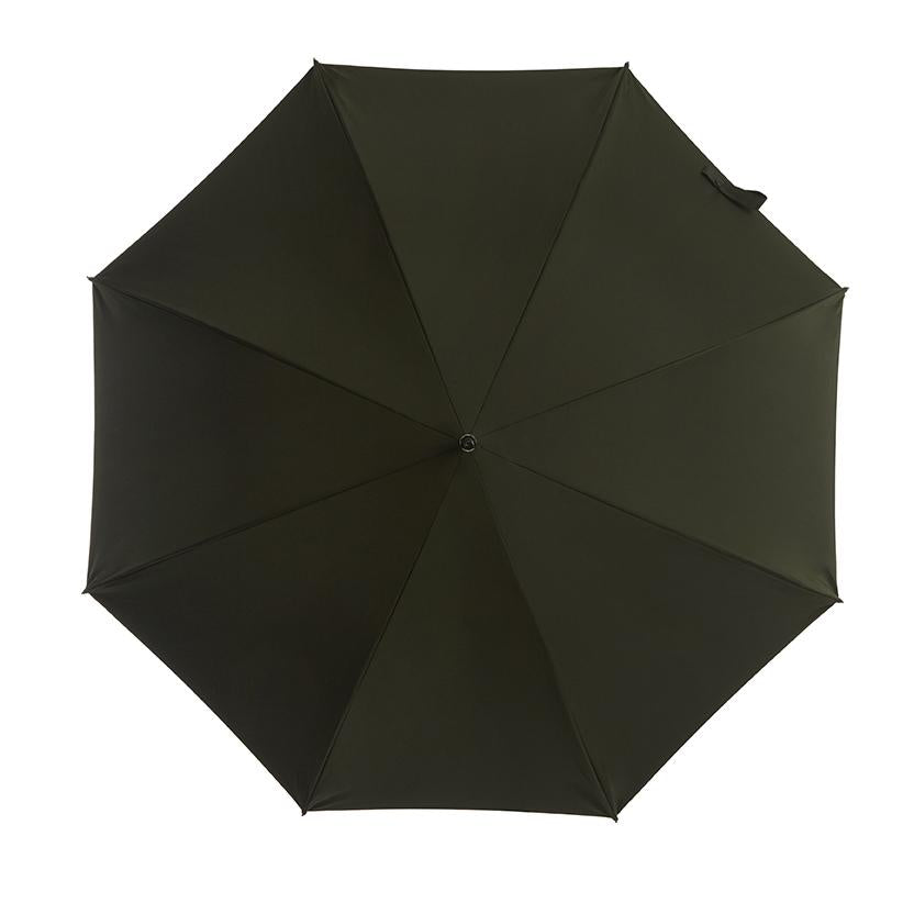 Pipet Design Full Length Traditional British Umbrella, Forest Green.