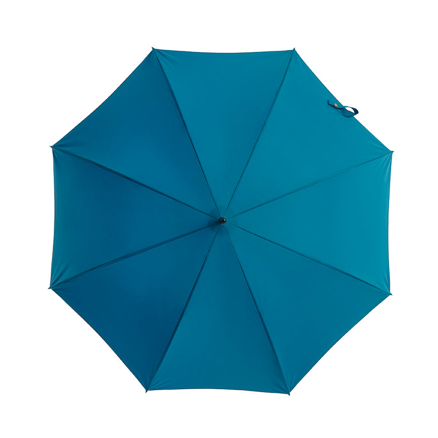 Pipet Design Full Length Traditional Umbrella, Kingfisher Blue