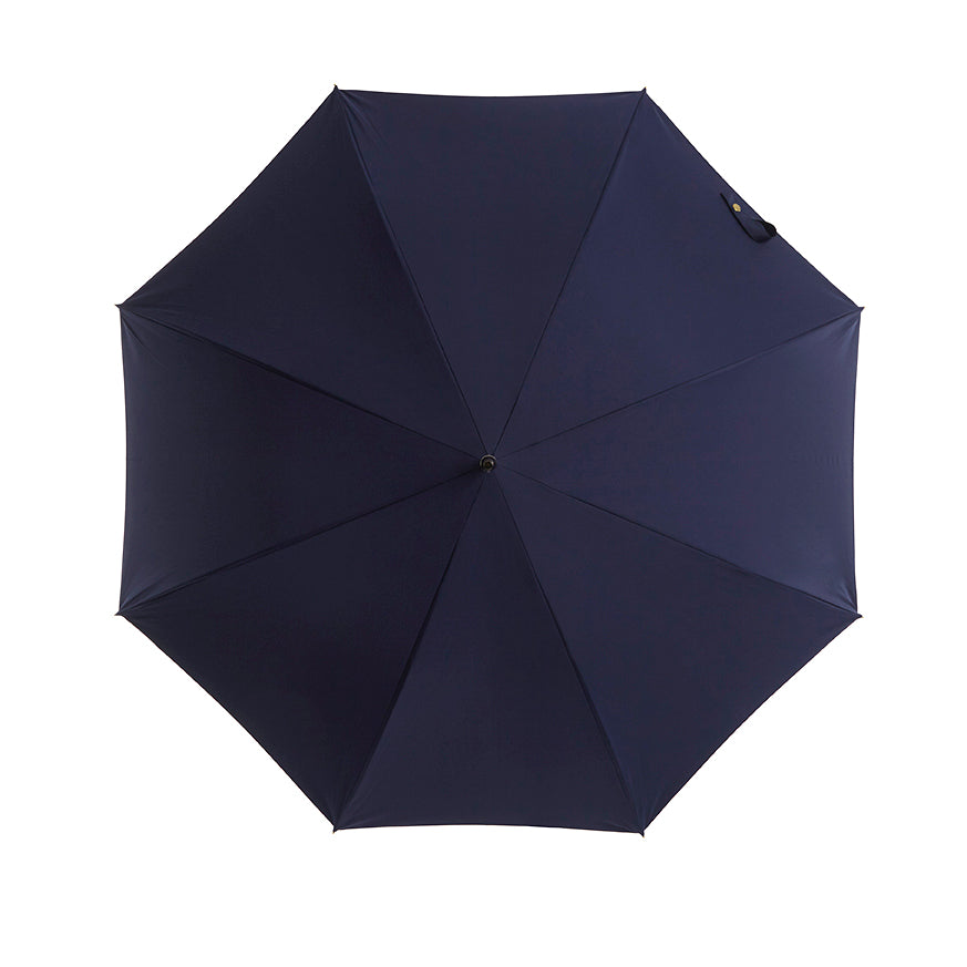 Pipet Design Full Length Traditional Umbrella, French Navy