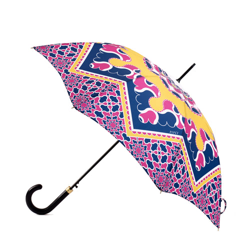 Full Length Umbrella - Barbican Yellow / Navy