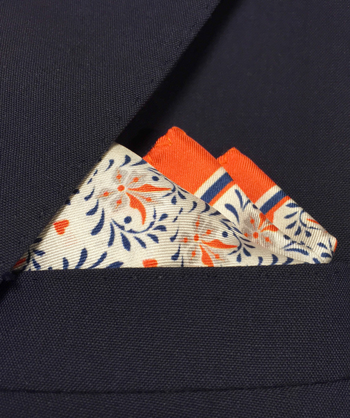 Saint V. Men's Pocket Square