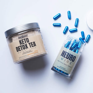 Keto Detox Tea + Neuro Wire Bundle