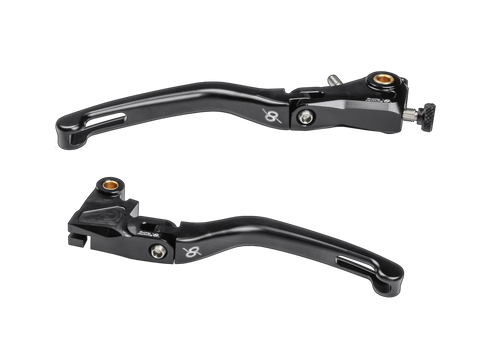 Bonamici Kawasaki ZX-10R (2016+) Folding Levers (Black)
