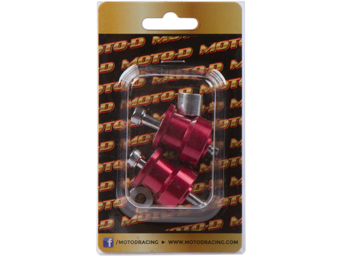 MOTO-D Swingarm Spools (6mm) - Red