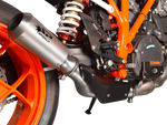 "Spark KTM Superduke 1290 ""GP Titanium"" Semi-Full Exhaust System (2014+)"