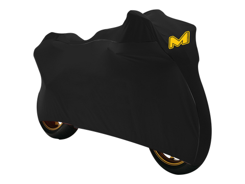 MOTO-D Motorcycle Cover for Sportbikes (Indoor / Outdoor) Black