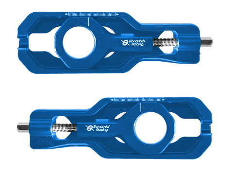Bonamici Suzuki GSX-R 1000 Chain Adjuster (2017+) (Blue)