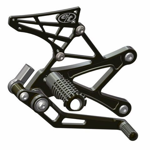 Evol Technology Kawasaki ZX6r/636 Rearsets (2006-current)