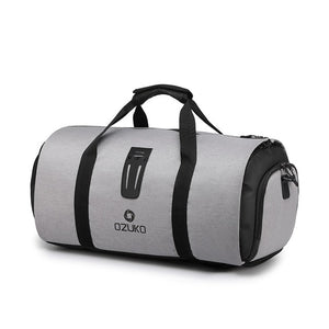 Grey Multifunction Large Capacity Travel Bag