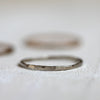 Solid 14k gold stacking rings white gold, yellow gold, rose gold