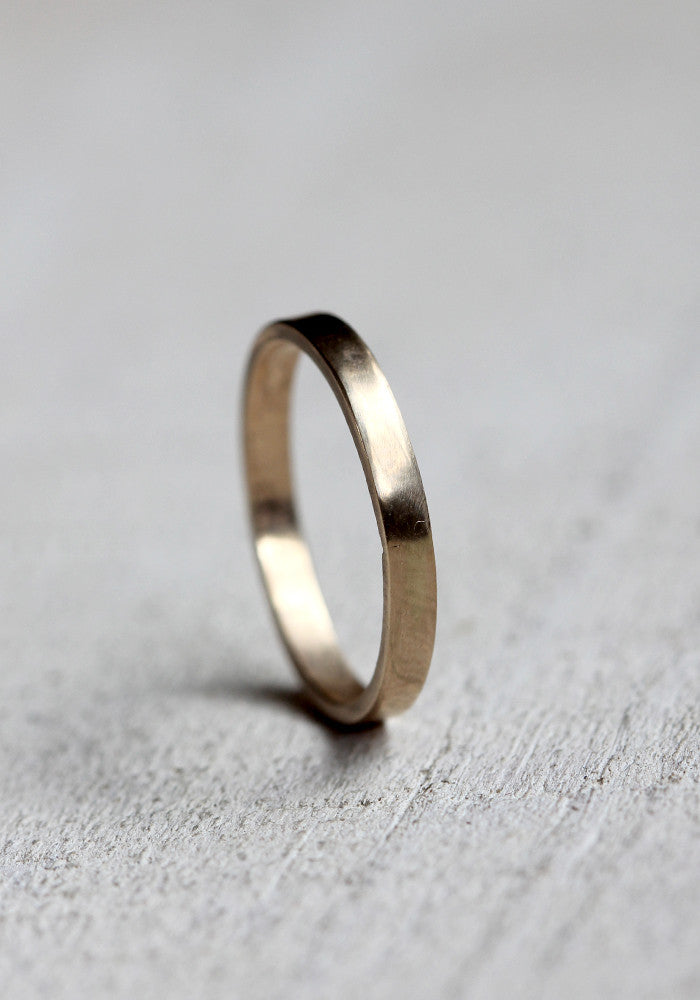 7cd348b42ad45 14k solid gold simple wedding band woman's simple thin wedding ring ...
