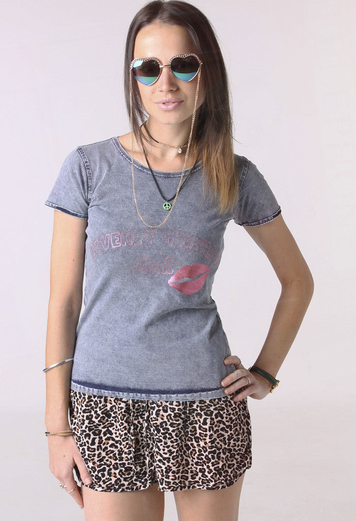 Denim Beverly Thrills T shirt