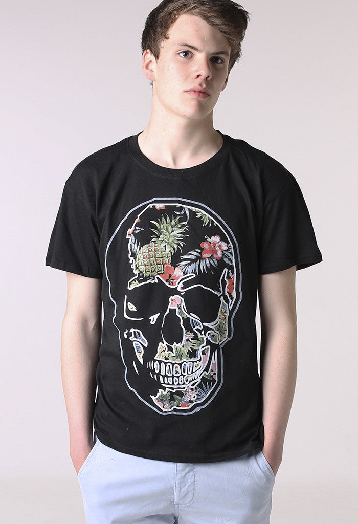 Hawaii Skull T shirt