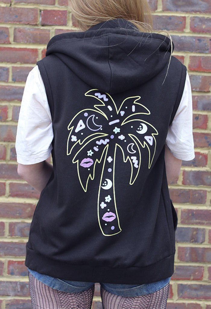 Lets Trance Sleeveless Hoody