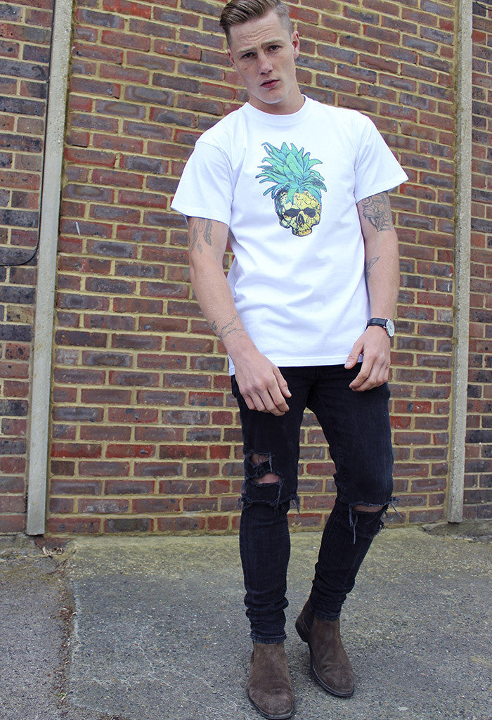 Tutti Fruiti Pineapple Skull Tee