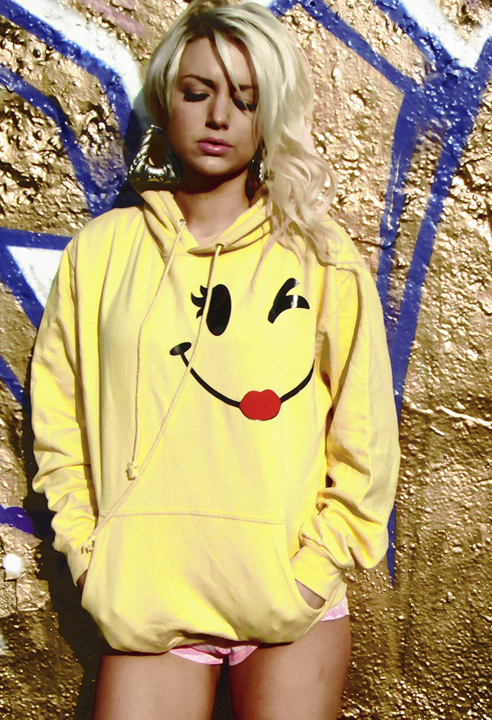 Wink Yellow Hoody