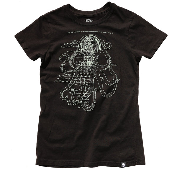 ANATOMY Women's Tee BLACK